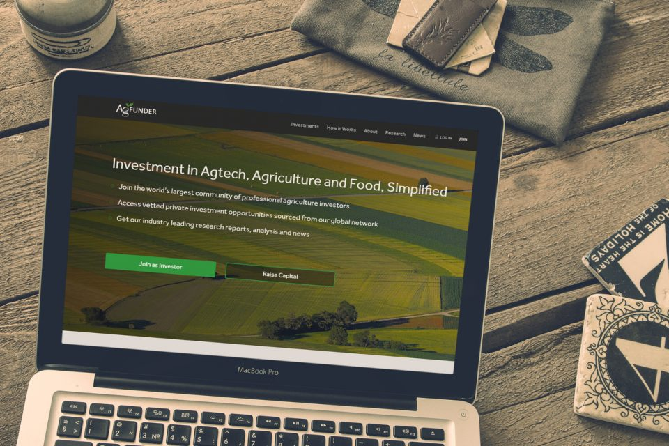 Ag funder – Web development